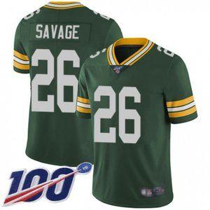 Packers Darnell Savage Jr. 100th Season Jersey
